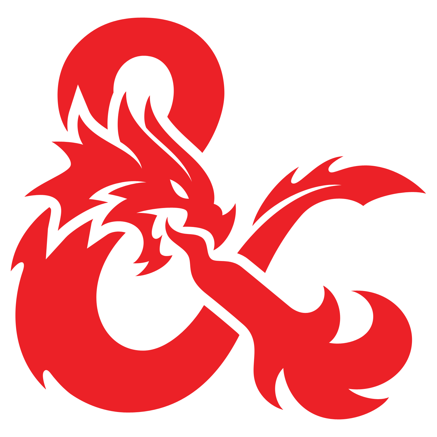The Dungeons and Dragons Ampersand logo
