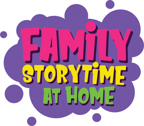 Family storytime at home